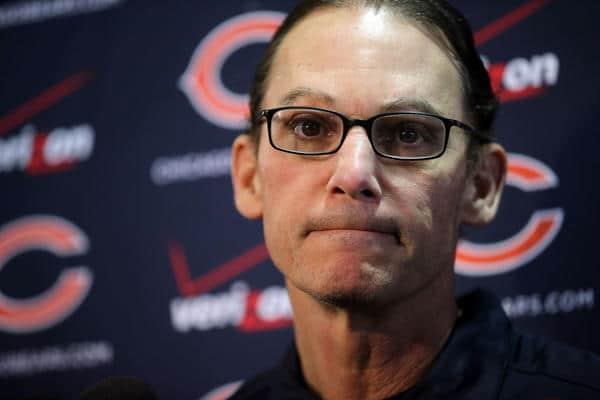 Dan Bernstein of 670 The Score says Chicago Bears head coach <b>Marc Trestman</b> ... - trestman